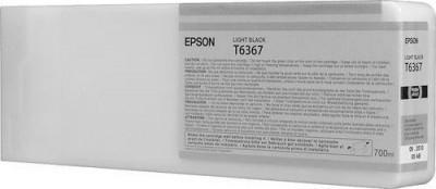 Картридж повышенной емкости с серыми чернилами T6367 (C13T636700)