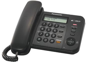 Проводной телефон_Panasonic KX-TS 2358 RUB Компания ForOffice 1173.000