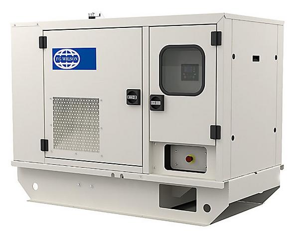 Дизельный генератор FG WILSON P9.5-4 кожух