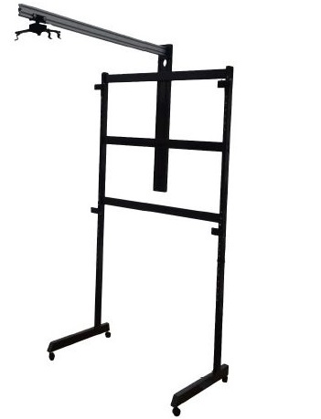 Мобильная напольная стойка STWP-06/1 для интерактивных досок стойка для одежды artmoon sam мобильная цвет черный хром