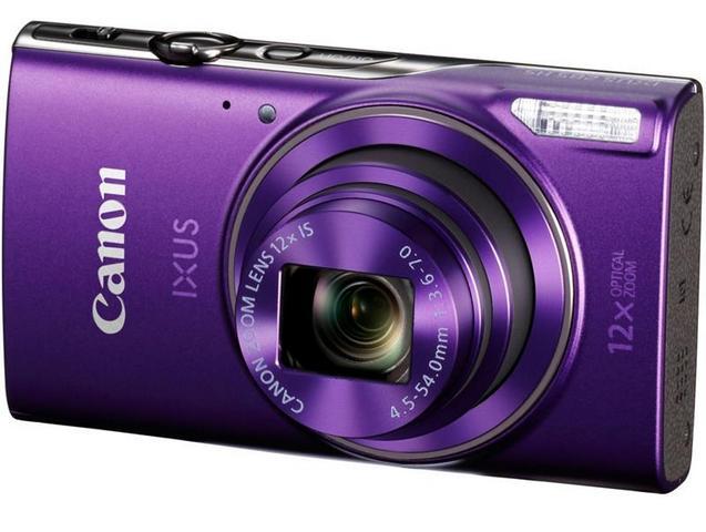 Компактный фотоаппарат Canon IXUS 285HS (фиолетовый)