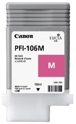 Картридж Canon Magenta PFI-106M (пурпурный)