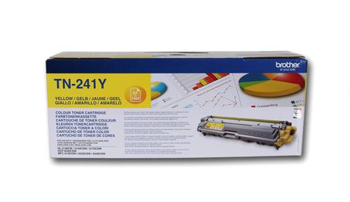 Тонер TN-241Y картридж brother tn 241y 1400 стр