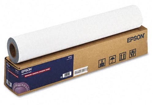 Рулонная бумага_Epson Enhanced Adhesive Synthetic Paper 24, 610мм х 30.5м (135 г/м2) (C13S041617)