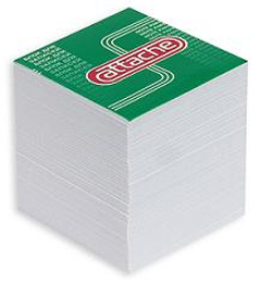 Блок-кубик запасной 9х9х9см Attache белый Компания ForOffice 54.000