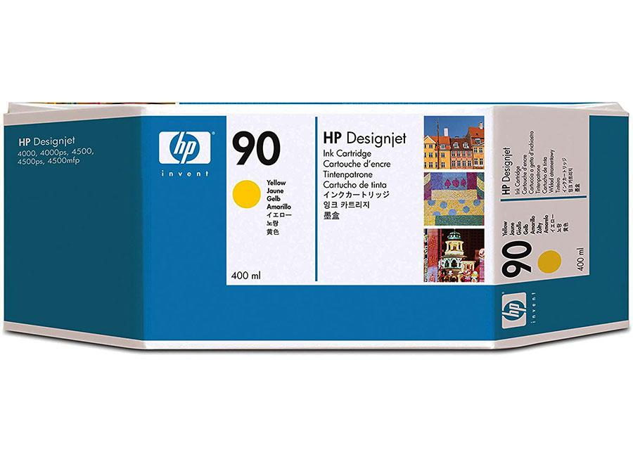 Набор картриджей HP Inkjet Cartridge 90 Yellow 3x400 мл (C5085A)