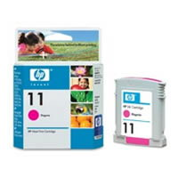 Картридж HP Inkjet Cartridge №11 Magenta (C4837A) картридж hp inkjet cartridge 90 black c5058a