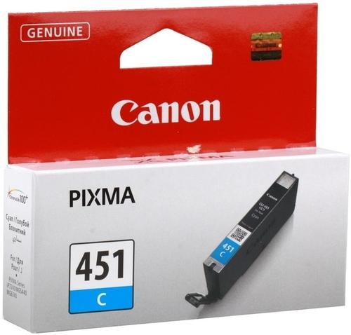 Чернильница Canon CLI-451C XL (6476B001) cli 471bk xl