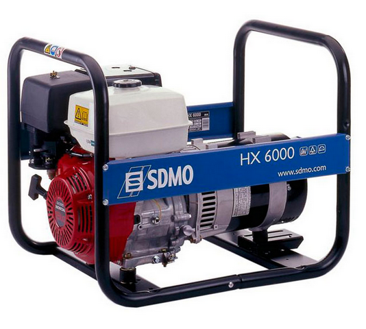 Бензиновый генератор_SDMO HX 6000S