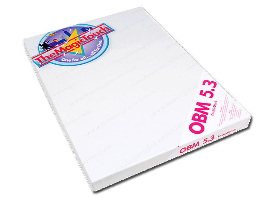 OBM 5.3 A4 (Термотрансферная бумага для темного текстиля) the magic touch dct 4 5c a4 термотрансферная бумага для твердых поверхностей