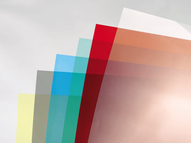 Обложки HiClear, Прозрачный, Жёлтый, А4, 0.18 мм, 100 шт