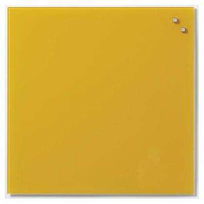 Стеклянная доска_Naga 45x45 Retro Yellow (10741)