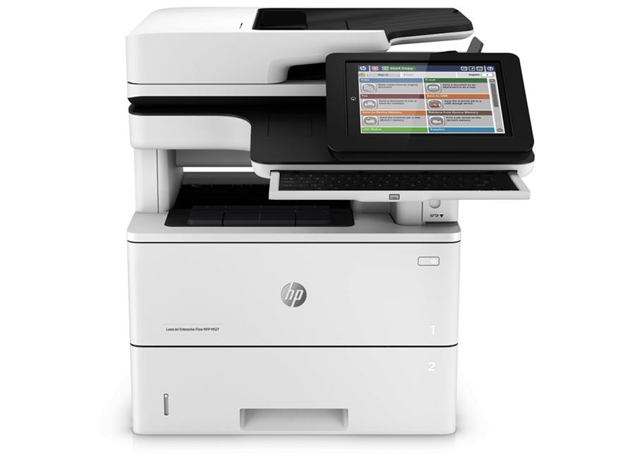 HP LaserJet Enterprise Flow M527c (F2A81A) сканер hewlett packard n6350