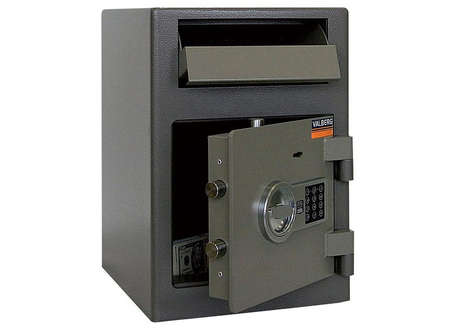 Купить Депозитный сейф Valberg ASD-19 EK в официальном интернет-магазине оргтехники, банковского и полиграфического оборудования. Выгодные цены на широкий ассортимент оргтехники, банковского оборудования и полиграфического оборудования. Быстрая доставка по всей стране
