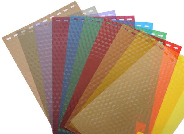 Обложки пластиковые, Кристалл, A4, 0.18 мм, Оранжевый, 100 шт