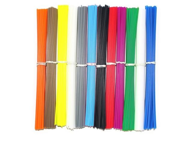 Набор ABS пластика 12 цветов для 3D ручки abs 1 75 3d 395m