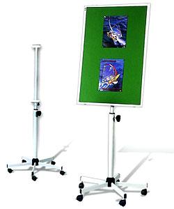 S01 Мобильная подставка для досок 120x90 см