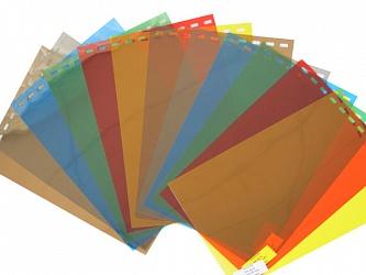 Обложки пластиковые, Прозрачные без текстуры, A4, 0.70 мм, Изумрудно-зеленая, 50 шт