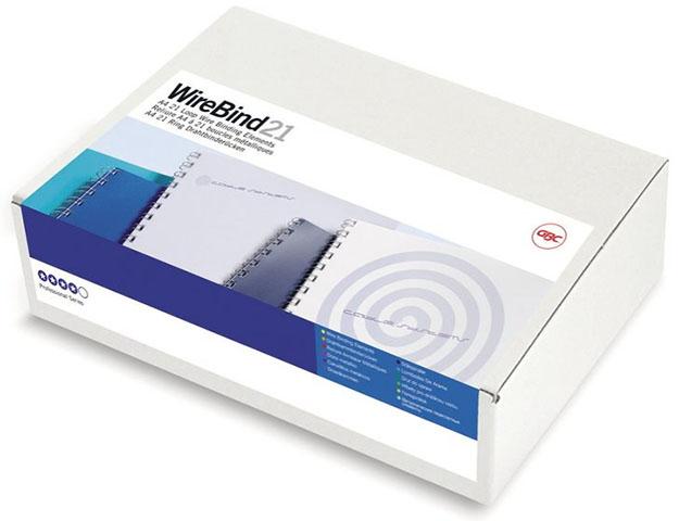 Металлическая пружина GBC IB165184, 8 мм, Белые, 100 шт