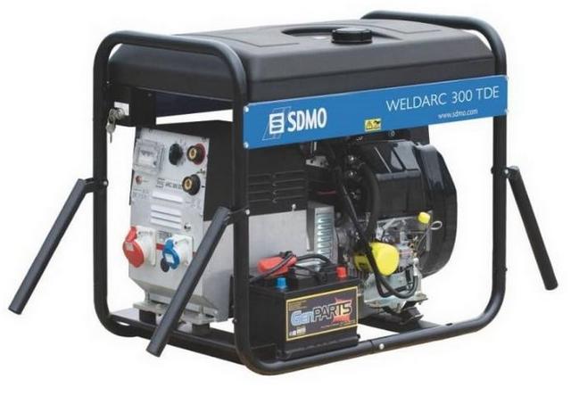 Weldarc 300TDE XL C sdmo weldarc 200
