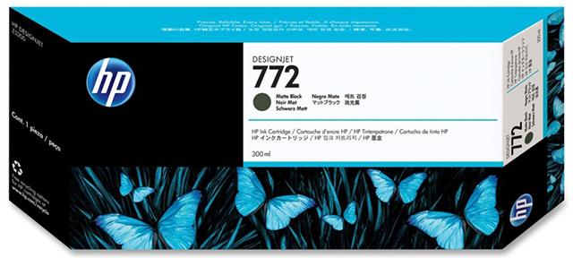Картридж HP Pigment Ink Cartridge №772 Matte Black (черный матовый)