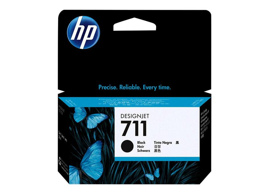 Картридж HP Designjet 711 черный (Black) 38 мл (CZ129A) картридж hp 711 cz129a 38ml black