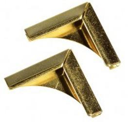 Уголок 15 мм Radiused Quarter Moon (золото) от FOROFFICE