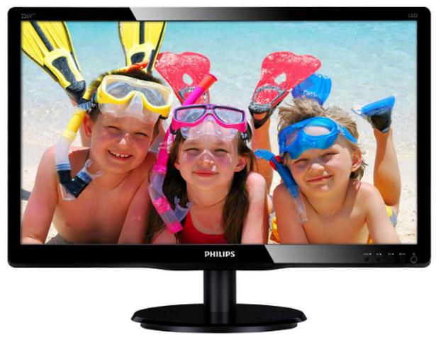 цена на 21.5 Philips 226V4LAB/00(01) Black