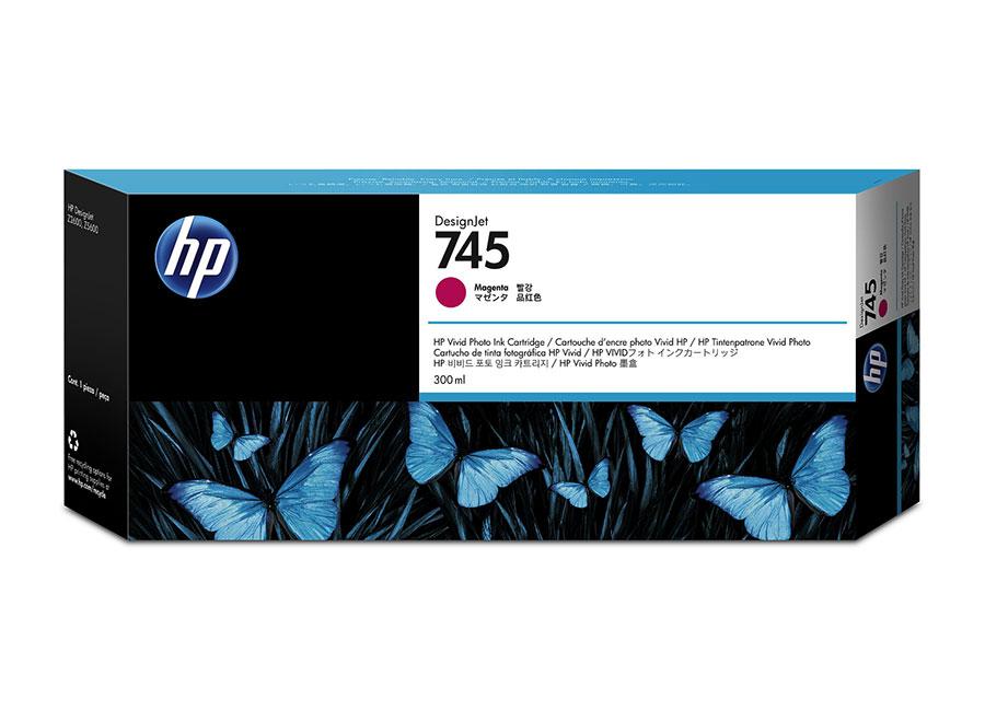 HP DesignJet 745 Magenta 300 мл (F9K01A) hp designjet t830 36 f9a30a