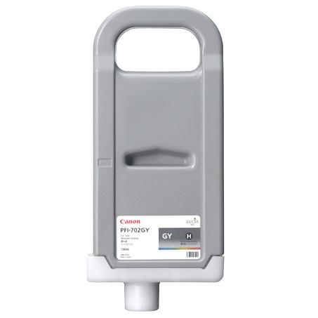 цена на Картридж Grey PFI-702GY (серый) пигментный