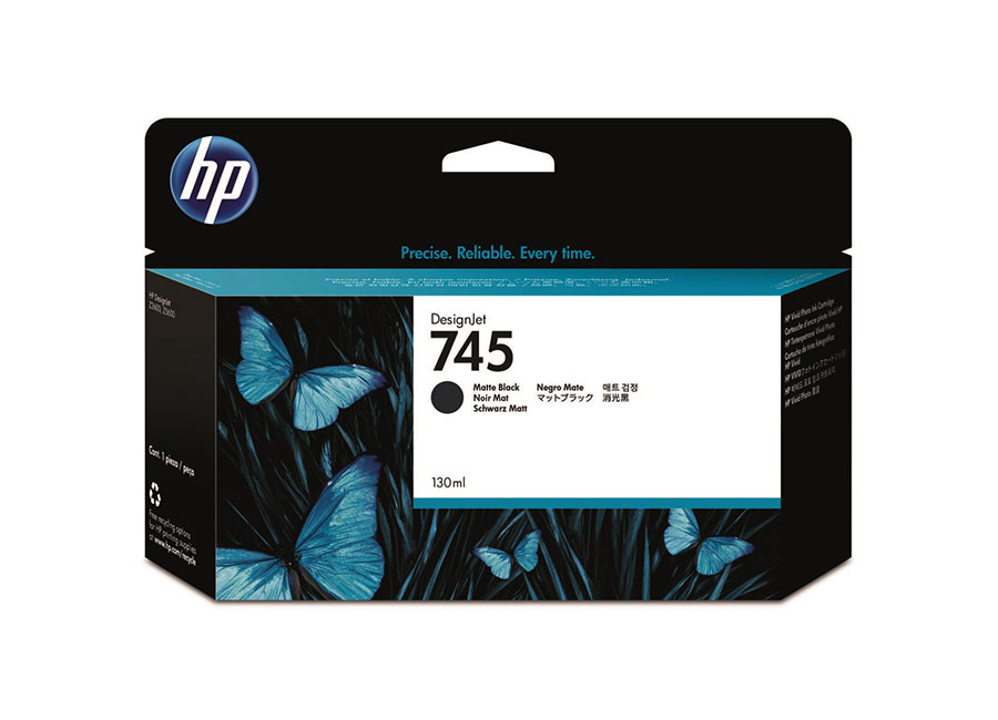 Картридж HP Designjet 745 Matte black 130 мл (F9J99A) картридж hp designjet 745 photo black 130 мл f9j98a