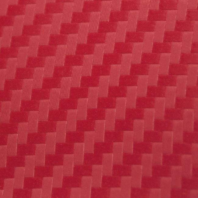 Пленка для термопереноса на ткань Red Carbon (10 м) пленка brosco пленка задняя карбон