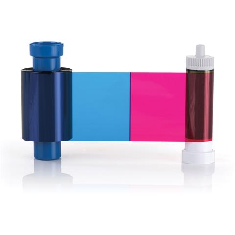 Полноцветная лента Magicard Prima111/R (4 цвета) набор из четырехцветной и ретрансферной ленты magicard prima431