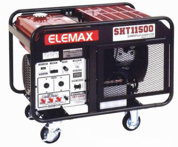Бензиновый генератор_Elemax SHT 11500