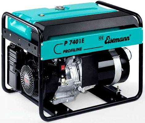 Бензиновый генератор_Eisemann P 7401 E
