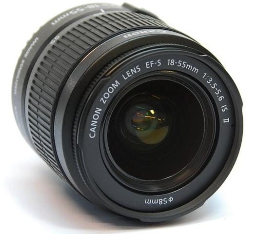 EF-S 18-55mm f/3.5-5.6 IS II