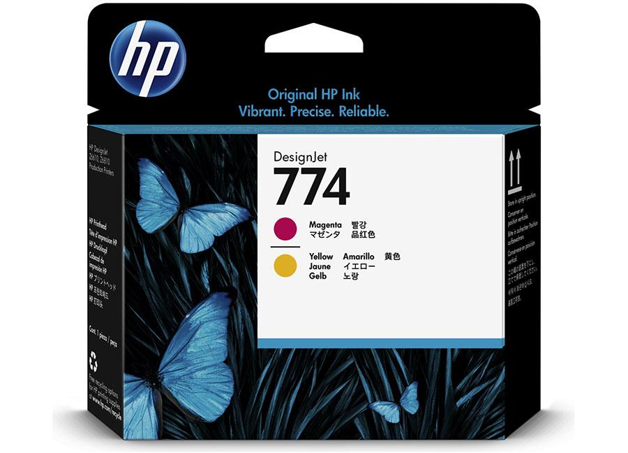 Печатающая головка HP №774 Designjet Magenta & Yellow (P2V99A) цена