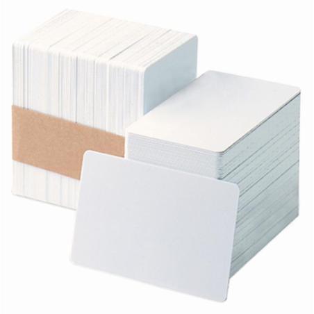 Пластиковые карты белые на самоклеющейся основе Magicard 9007-011 Компания ForOffice 18.000