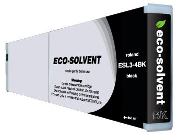 ECO-Solvent Black 440 мл (ESL3-4BK) dx7 eco solvent unlocked for epson print head f1890010