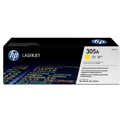 Тонер-картридж HP CE412A hewlett packard hp многофункциональная лазерная аппаратура для печати копии факса сканирования