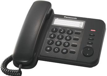 Проводной телефон_Panasonic KX-TS 2352 RUB Компания ForOffice 541.000