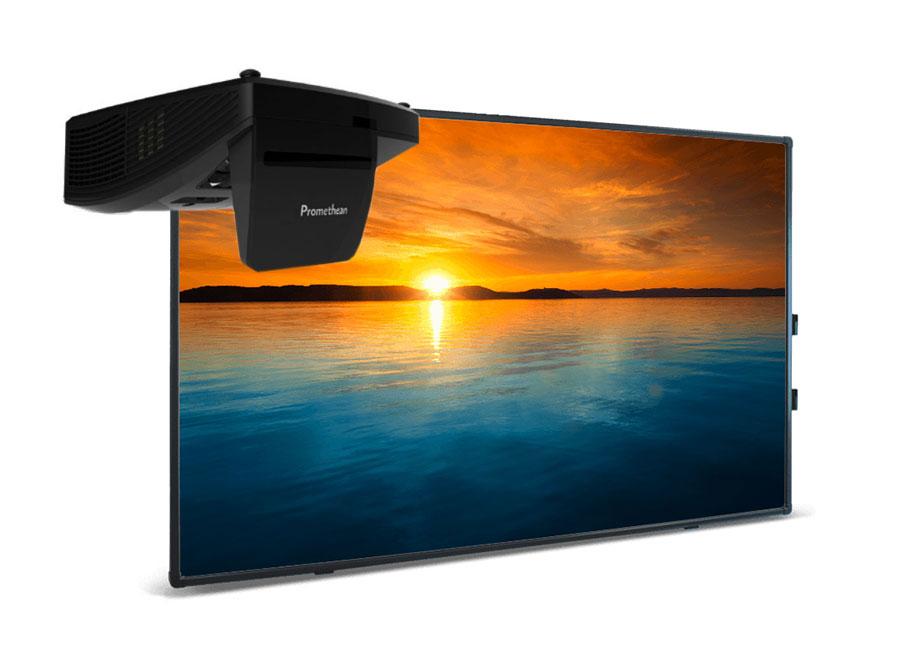 Интерактивная доска Touch 78 Dry Erase 10 касаний, ПО ActivInspire в комплекте с проектором Promethean UST-P2 и настенным монтажным креплением Mount объектив для проектора sim2 m1 lens для sirio