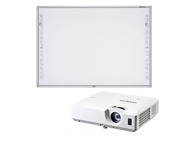 Интерактивная доска   R3-800 + проектор Hitachi CP-EX251N