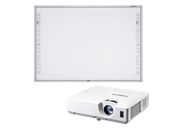 Интерактивная доска NewLine R3-800 + проектор Hitachi CP-EX251N