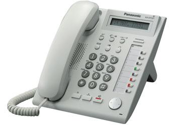 Системный телефон_Panasonic KX-DT321RUW Компания ForOffice 2840.000
