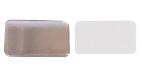 Заготовки для значков   37х58 мм, винил. магнит, 100 шт