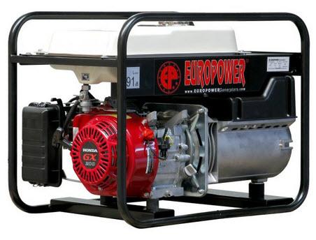 Бензиновый генератор_Europower EP3300/11
