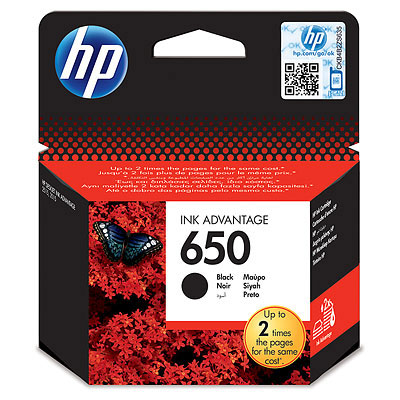 Картридж HP 650 (CZ101AE) картридж для принтера hp cz101ae 650 black ink cartridge