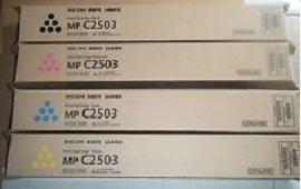 Тонер-картридж MPC2503 голубой (841931) тонер картридж mpc3502e голубой