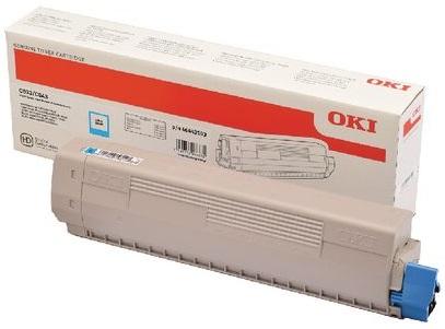 Тонер-картридж Toner-C 10k C833/C843 (46443115) тонер картридж toner m 7k c823 c833 c843 46471106